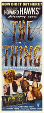 The Thing from another world Horror movie poster #123