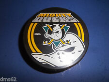 NEW ANAHEIM MIGHTY DUCKS OFFICIAL NHL HOCKEY PUCK  NHL LICENSED PUCK 6