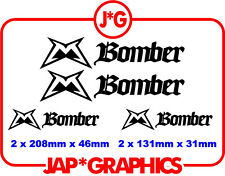 Marzocchi Bomber Mountain Bike Bmx Downhill Mtb Sticker Decal Envío Gratis