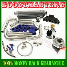 GT35 Turbo Kit  Intercooler Wastegate Cast Iron manifold 92-05 Golf Jetta Passat