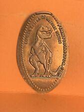 Carnegie Museum Natural History Brontosaurus Pressed Elongated Penny