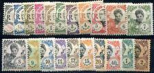 INDOCHINE 1922 Yvert 1922 96-116 * SATZ(F3697