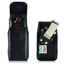 Turtleback Kyocera DuraXE Vertical Leather Pouch Holster Case Metal Clip