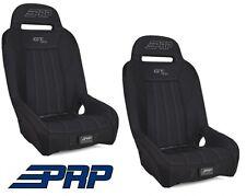 PRP Suspension Rear Seat - Black / Black Pair 14-17 Polaris RZR XP 1000 & Turbo