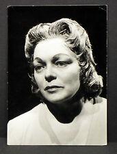 Martha Mödl Theater Oper München - Foto Autogramm-AK (Lot-H-5487