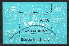 Indonesia - 1983 Total solar eclipse - Mi. Bl. 50 MNH