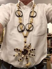Shaman Necklace - Beans, Bones. and Teeth
