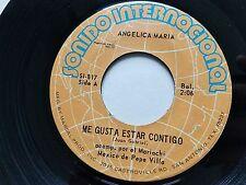 ANGELICA MARIA - Me Gusta Estar Contigo / Toma Mi Corazoncito '73 LATIN RANCHERA