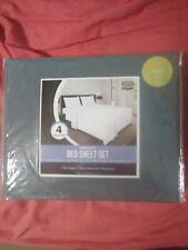 full size bed sheet set cotton