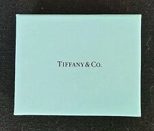 Tiffany & Co Authentic Presentation Small Blue Gift Box Blue Interior    9