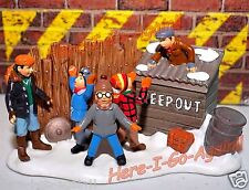 Bullies In The Alley fight Scut Farkus A Christmas Story Ralphie Randy Dept 56
