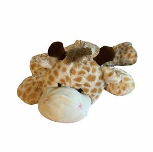 "Dan Dee Giraffe Plush 24"" Large Jumbo Shaggy Pillow Stuffed Animal CLEAN"