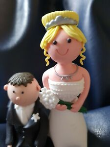Wedding Cake Toppers Bride & Groom Lovely Fun Items  Hen Party Fun