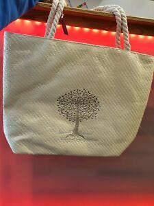 Tree Of Life Studded Tote Bag Free P&P