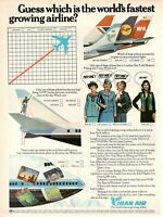 1977 Original Advertising' Vintage American Individual Iran Air Airlines