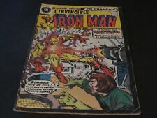 1975 THE INVINCIBLE IRON MAN # 32 IN FRENCH EDITIONS HERITAGE CANADA