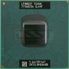 Intel Core2 DUO T5450 SLA4F Mobile CPU Processor Socket P 1.66Ghz 2MB 667MHz