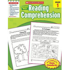 Scholastic Success with Reading Comprehension Grade 1 (Paperback) FREE ship $35