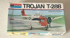 Vintage Monogram 1/48 Scale TROJAN T-28b U.S. Navy Training Plane