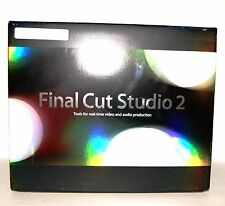 Apple Final Cut Studio 2 Upgrade from Final Cut Studio [OLD VERSION]