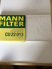 Mann Cabin Filter Element Activated Charcoal For Ford Edge 2.0 TDCi AWD