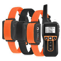 1000m Remote Electric Dog Training Shock Collar Rechargeable Anti-Lost Trainer
