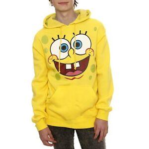 SpongeBob Squarpants Face Adult Hoodie