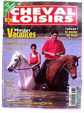 Cheval Loisirs n°75 du 7/1998; Monter en vacances/ Le heval et l'eau/ Roulotte