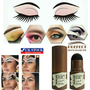 Woman lady One Step Brow Stamp Shaping Kit Eyebrow Definer 2021 NEW UK