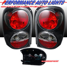 Set of Pair Black Altezza Style Taillights for 2002-2007 Jeep Liberty