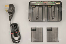 READ! 🔥 Genuine Canon LC-E4N Battery Charger EOS 1DX I-II 1D III LP-E4 LP-E4N