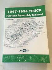 1947 - 1954 Chevrolet Truck Factory Assembly Manual Chevy Pickups And All Models