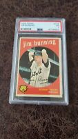 1959 Topps Jim Bunning #149 - PSA 1 - Detroit Tigers