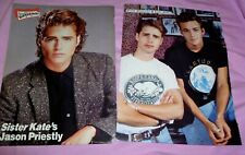 Luke Perry Jason Priestley clippings pin up 90210 Gerard Christopher Superboy