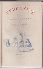 Apostolo Zero, Verbanine, Giovanni Faldella, Treves editore, 1892, G. Ricci