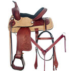 C-7-13 13 In Western Horse Saddle Barrel Racing Trail Child Youth Leather Tack