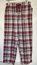 Concept Sports Sleepwear VT Mens Flannel Pyjama Bottoms Purple Grey Check