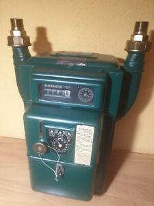 antike Gasuhr , Gaszähler , Münzautomat , G.Kromschröder AG 1936 , restauriert