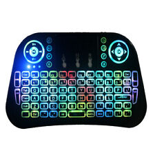 Mini I10 2.4G Wireless Colorful Marquee Backlit Mini Keyboard Air Mouse Touchpa
