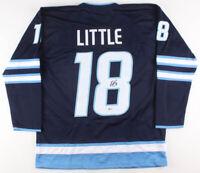 Bryan Little Signed Winnipeg Jets Ice Hockey Jersey (Beckett COA) Autographed