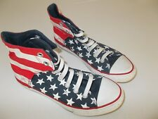 CONVERSE ALL STAR - CHUCK TAYLOR STARS & STRIPES DESIGN BASEBALL BOOT- AU SIZE 4