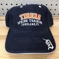 Detroit Tigers MLB Baseball Spring Training Lakeland, FL Strap Back Hat EUC Cap