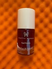 Pretty Woman Nail Polish Lacquer In Don't Be Jelly Full Sz Wine Red