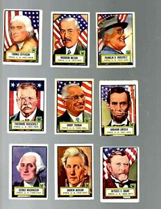1952 TOPPS LOOK N SEE NEAR SET 107 OF 135 CARDS