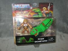Masters of the Universe Eternia Minis ~ He-Man & Ground Ripper 2-pack MOSC MOTU