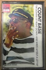 """Count Basie """"I'm Gonna Sit Right Down..."""" Tape Cassette - Never Been Played"""