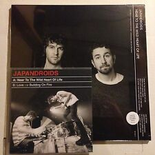 "JAPANDROIDS Near Wild Heart LIfe COKE BOTTLE CLEAR x/1000 Bonus RED 7"" Sealed"