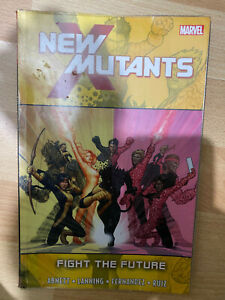 New Mutants Fight the Future Paperback TPB Graphic Novel Ex Library Marvel