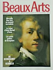 BEAUX ARTS MAGAZINE N° 35/MAI 1986/REMBRANDT/VERMEER/WARHOL/PALAIS BRONGNIART
