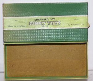 OS40 Empty box for Dinky set No. 6 Shepherd set